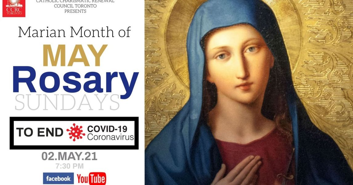 CCCR Marian Month of May Rosary