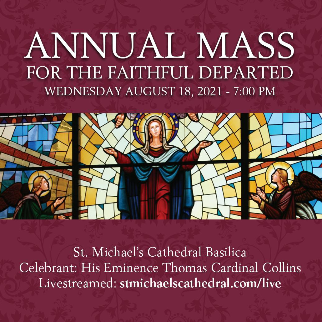 Poster: Annual Mass for the Faithful Departed