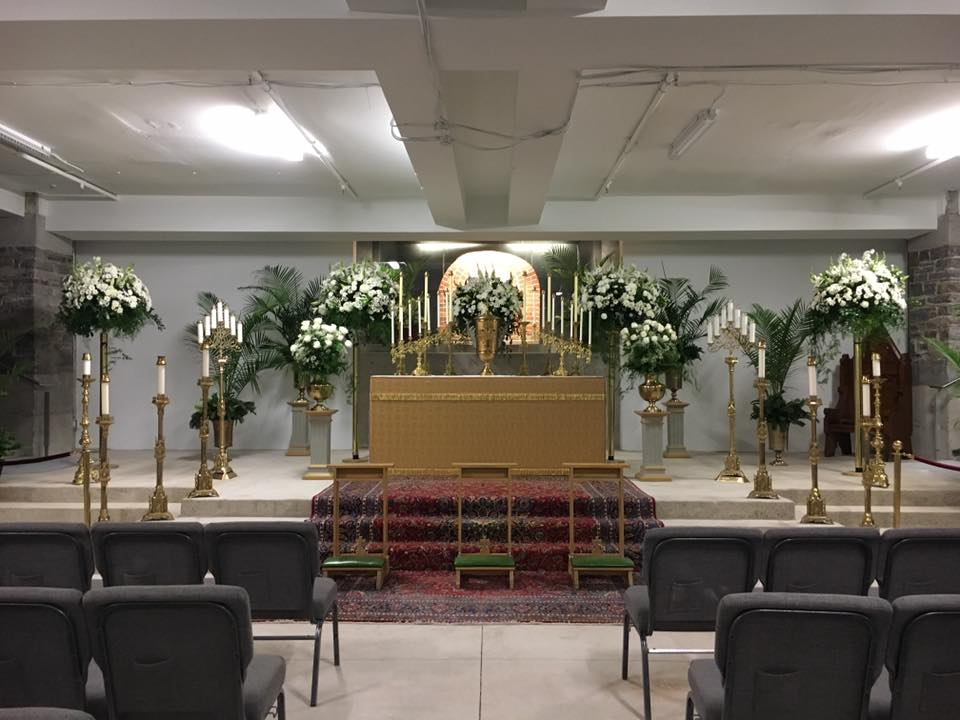 St. Michael's Cathedral Basilica - crypt chapel