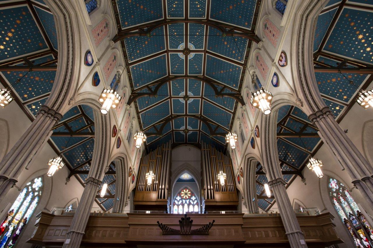 St. Michael's Cathedral Basilica - entrance