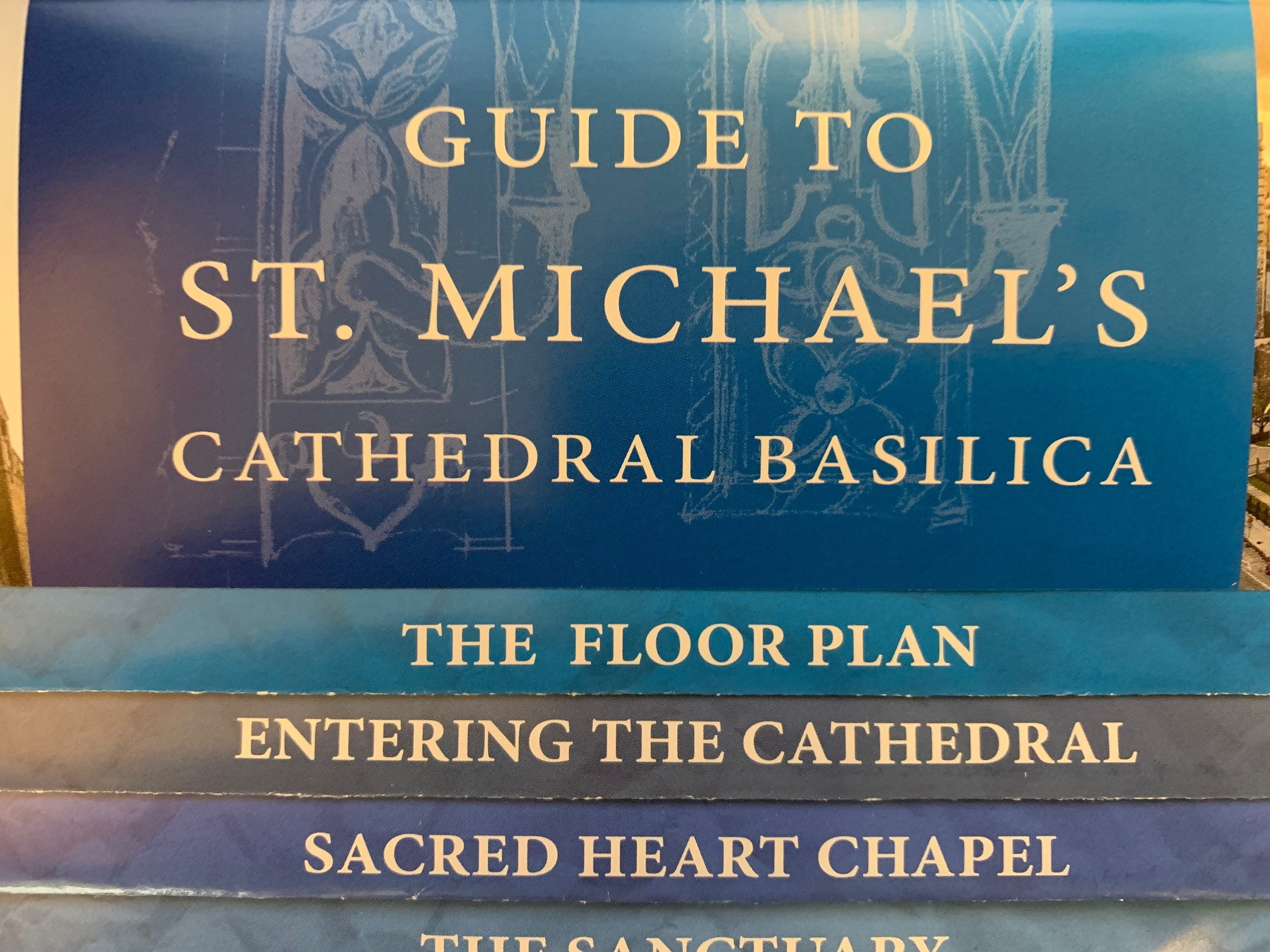 St. Michael's Cathedral Basilica - guide book