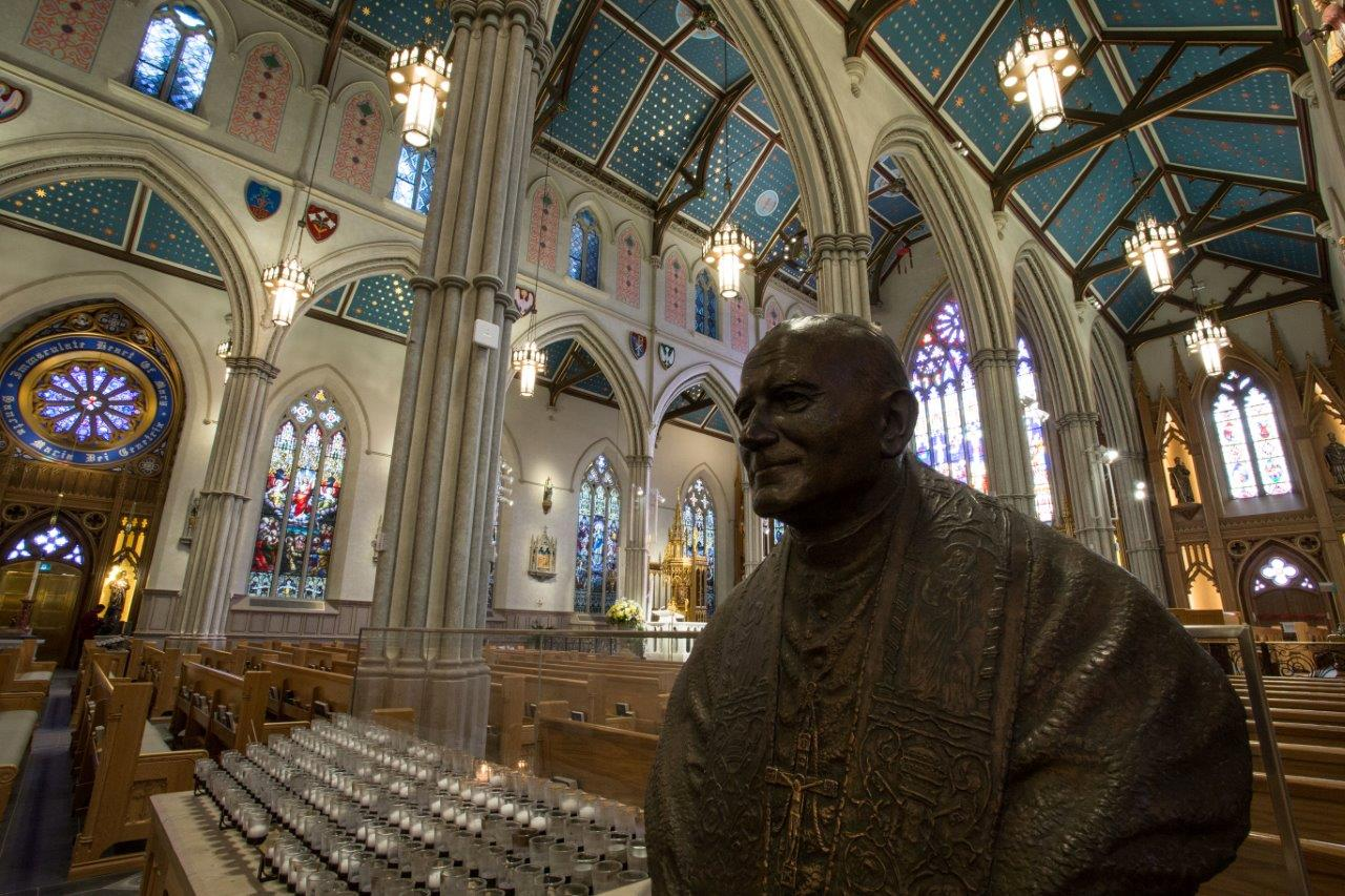 St. Michael's Cathedral Basilica - inside