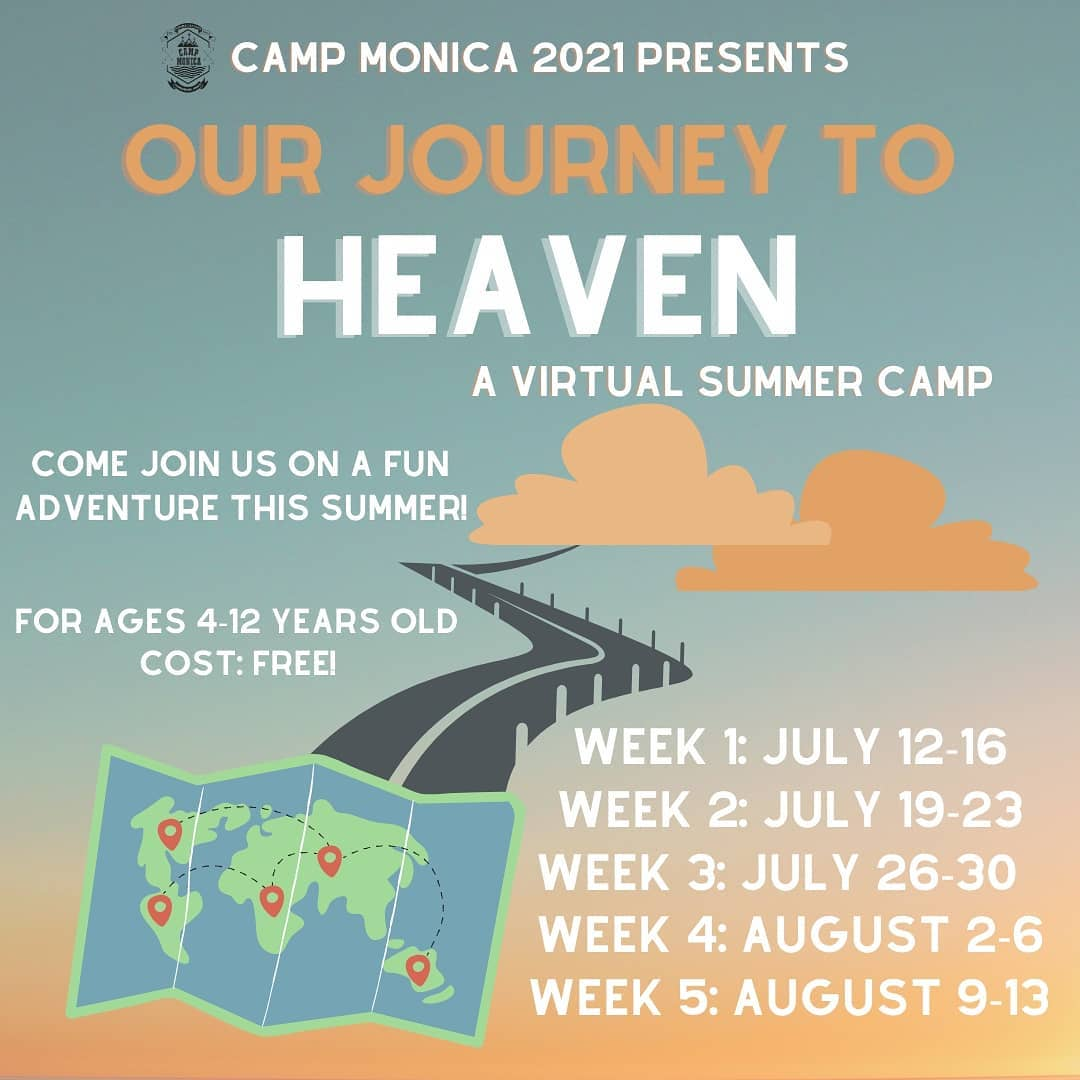 St. Monica's Virtual Summer Camp