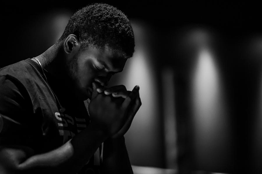 Man at Prayer