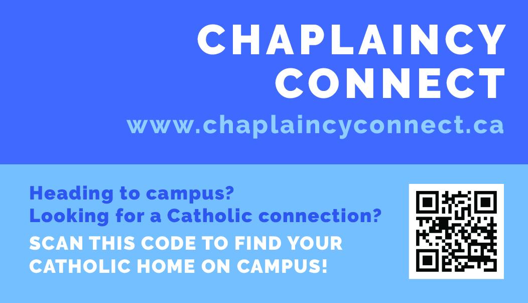 Chaplaincy Connect Card