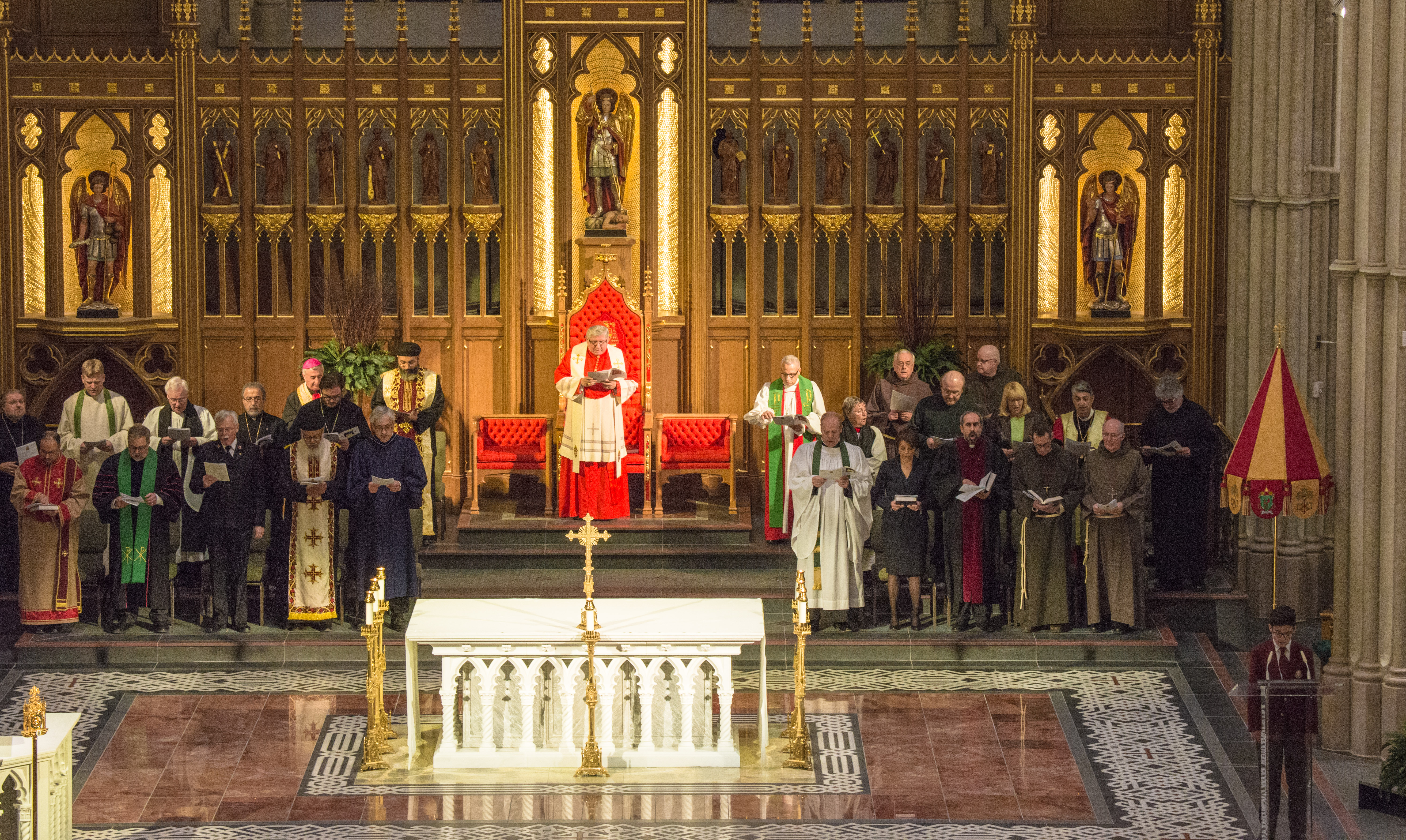 Prayer for Christian Unity at St. Michael`s Cathedral